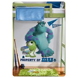 Monsters, Inc. - Monsters University Sulley and Mikey Giant Wall Decal