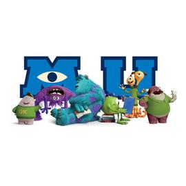 Monsters, Inc. - Monsters University Giant Character Collage Wall Decal