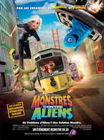 Monsters vs. Aliens - 27 x 40 Movie Poster - French Style A
