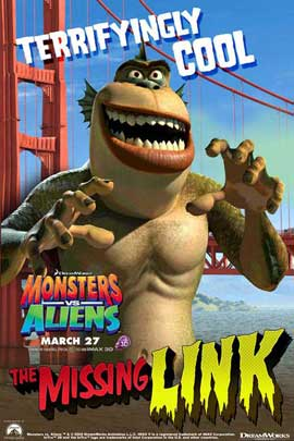 Monsters vs. Aliens - 11 x 17 Movie Poster - Style E