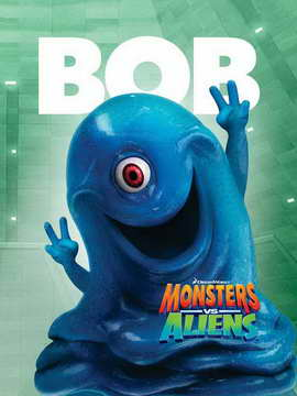 Monsters vs. Aliens - 11 x 17 Movie Poster - Style I