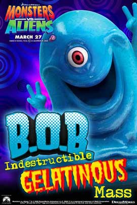 Monsters vs. Aliens - 11 x 17 Movie Poster - Style K