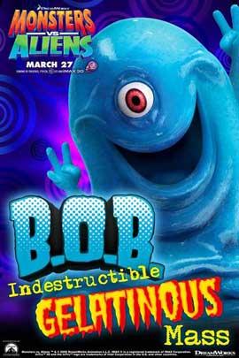 Monsters vs. Aliens - 11 x 17 Movie Poster - Style K