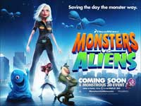 Monsters vs. Aliens - 11 x 17 Movie Poster - UK Style A