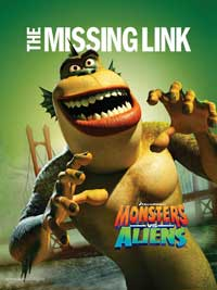 Monsters vs. Aliens - 11 x 17 Movie Poster - Style Q