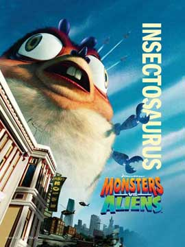Monsters vs. Aliens - 11 x 17 Movie Poster - Style R