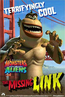 Monsters vs. Aliens - 11 x 17 Movie Poster - UK Style C