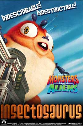 Monsters vs. Aliens - 11 x 17 Movie Poster - UK Style E