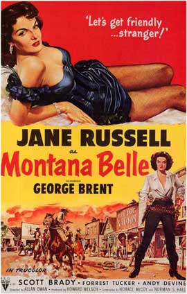Montana Belle - 11 x 17 Movie Poster - Style A