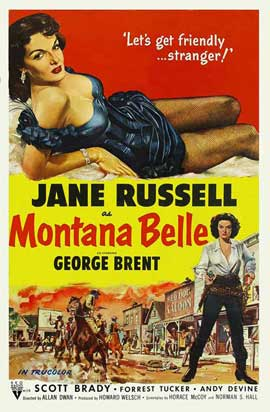 Montana Belle - 27 x 40 Movie Poster - Style B