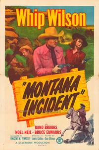 Montana Incident - 27 x 40 Movie Poster - Style A