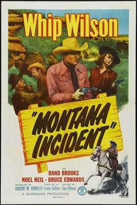 Montana Incident - 11 x 17 Movie Poster - Style A