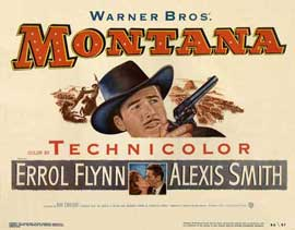 Montana - 22 x 28 Movie Poster - Half Sheet Style A