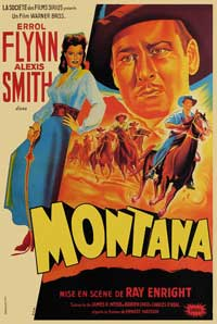 Montana - 11 x 17 Movie Poster - French Style A