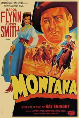 Montana - 27 x 40 Movie Poster - French Style A
