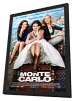 Monte Carlo - 27 x 40 Movie Poster - Style A - in Deluxe Wood Frame