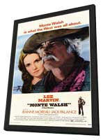Monte Walsh - 11 x 17 Movie Poster - Style A - in Deluxe Wood Frame
