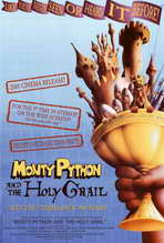 Monty Python and the Holy Grail Movie Posters