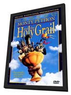 Monty Python and the Holy Grail - 27 x 40 Movie Poster - Style B - in Deluxe Wood Frame