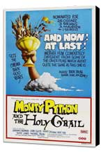 Monty Python and the Holy Grail - 27 x 40 Movie Poster - Australian Style A - Museum Wrapped Canvas