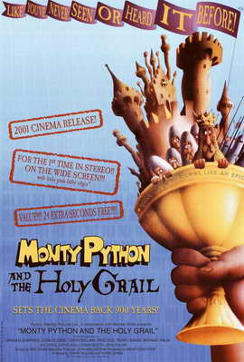 Monty Python and the Holy Grail - 11 x 17 Movie Poster - Style A