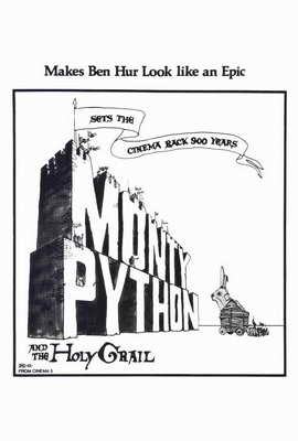 Monty Python and the Holy Grail - 27 x 40 Movie Poster