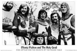 Monty Python and the Holy Grail - Movie Poster - 24 x 36 - Style A