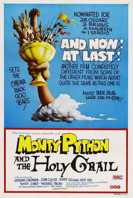 Monty Python and the Holy Grail - 27 x 40 Movie Poster - Australian Style A