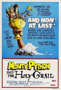 Monty Python and the Holy Grail - 43 x 62 Movie Poster - Australian Style A