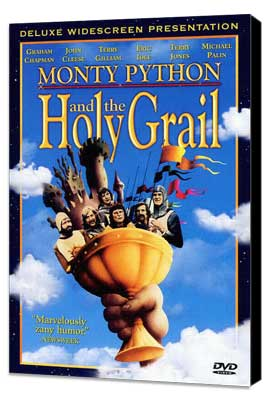 Monty Python and the Holy Grail - 11 x 17 Movie Poster - Style E - Museum Wrapped Canvas