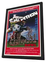 Monty Python Live at Hollywood Bowl - 11 x 17 Movie Poster - Style A - in Deluxe Wood Frame