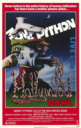 Monty Python Live at Hollywood Bowl - 11 x 17 Movie Poster - Style A