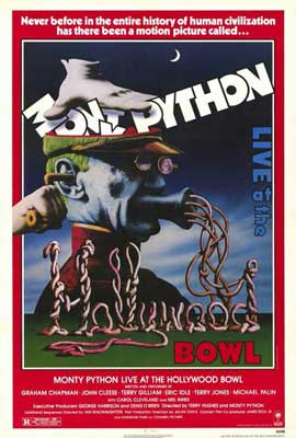 Monty Python Live at Hollywood Bowl - 27 x 40 Movie Poster - Style A
