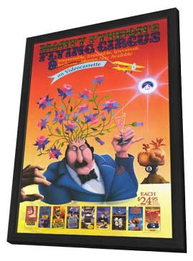 Monty Python's Flying Circus - 11 x 17 Movie Poster - Style A - in Deluxe Wood Frame