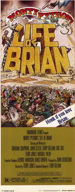 Monty Python's Life of Brian - 14 x 36 Movie Poster - Insert Style A
