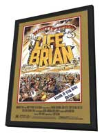 Monty Python's Life of Brian - 27 x 40 Movie Poster - Style A - in Deluxe Wood Frame