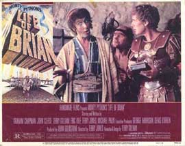 Monty Python's Life of Brian - 11 x 14 Movie Poster - Style C