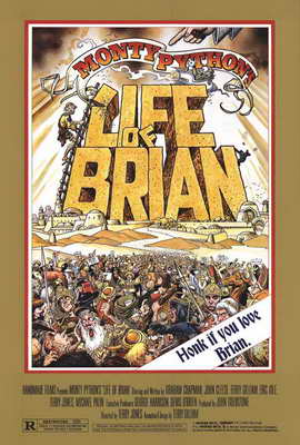 Monty Python's Life of Brian - 27 x 40 Movie Poster - Style A