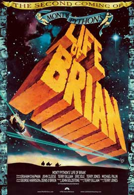 Monty Python's Life of Brian - 27 x 40 Movie Poster - UK Style A