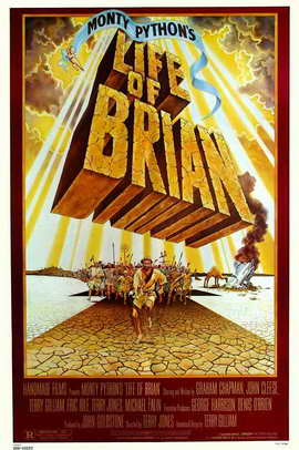 Monty Python's Life of Brian - 11 x 17 Movie Poster - Style E