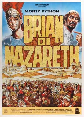 Monty Python's Life of Brian - 27 x 40 Movie Poster - Italian Style A