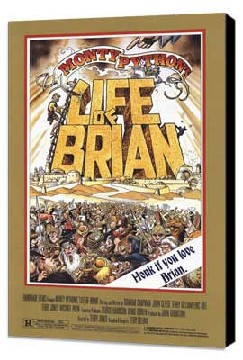 Monty Python's Life of Brian - 27 x 40 Movie Poster - Style A - Museum Wrapped Canvas