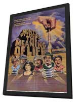 Monty Python's The Meaning of Life - 11 x 17 Movie Poster - Style A - in Deluxe Wood Frame
