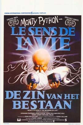Monty Python's The Meaning of Life - 11 x 17 Movie Poster - Belgian Style A