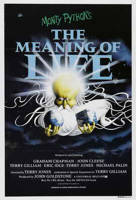 Monty Python's The Meaning of Life - 11 x 17 Movie Poster - Style C