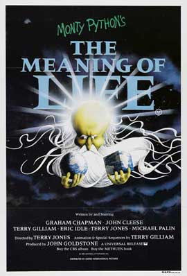 Monty Python's The Meaning of Life - 27 x 40 Movie Poster - Style C