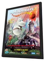Moomins and the Comet Chase - 11 x 17 Movie Poster - French Style A - in Deluxe Wood Frame
