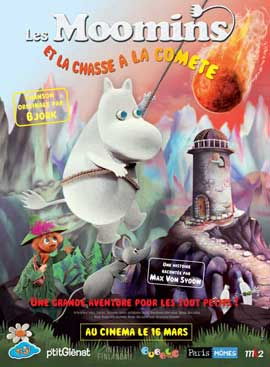 Moomins and the Comet Chase - 11 x 17 Movie Poster - French Style A