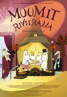 Moomins and the Comet Chase - 27 x 40 Movie Poster - Finnish Style A