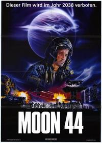 Moon 44 - 11 x 17 Movie Poster - German Style A